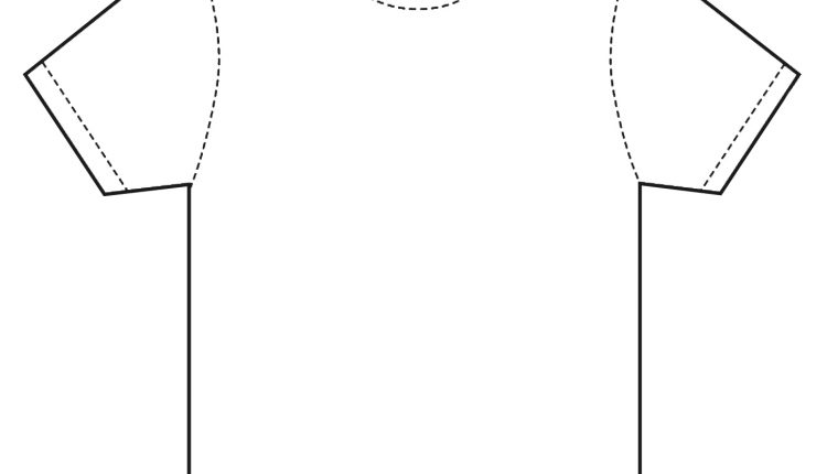 T Shirt Printing Template Sing Uniform - T shirt print out template