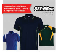 polo shirt printing townsville