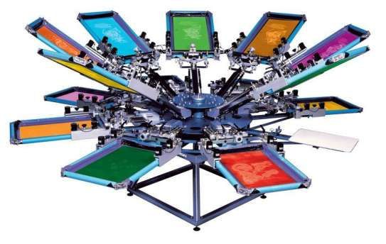 T Shirt Uniform Printing Press 1