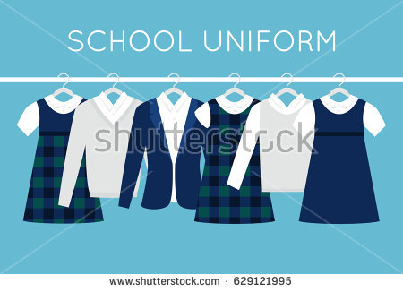 school uniform clothing