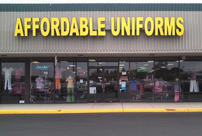 uniform outlet near me