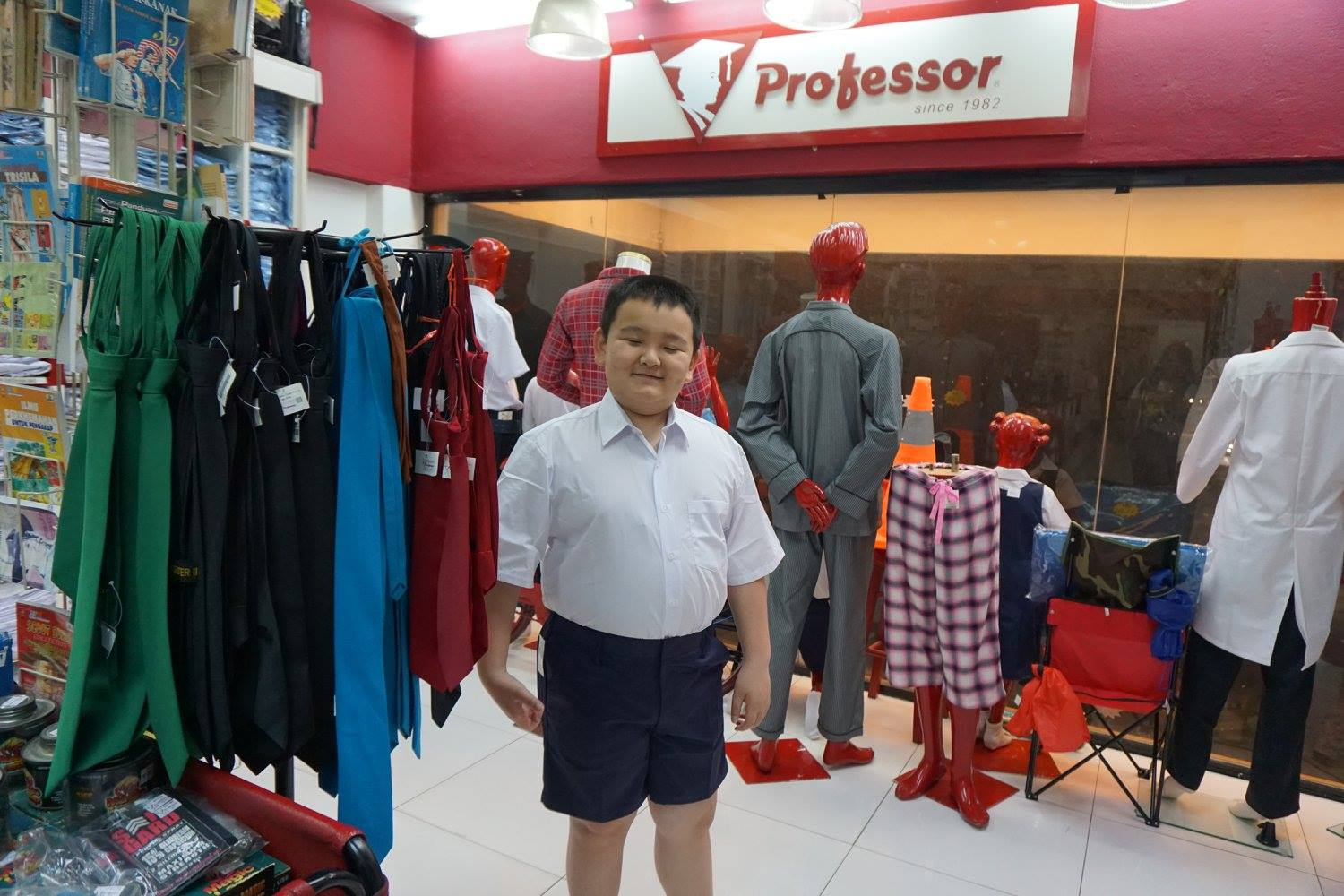 A frequent business type near School Uniform Factory is Radio Broadcasting Stations.. There is a Shoe Store not far away for all your footwear needs. Need a .