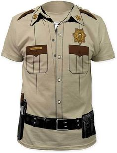 cop uniform t shirt 1